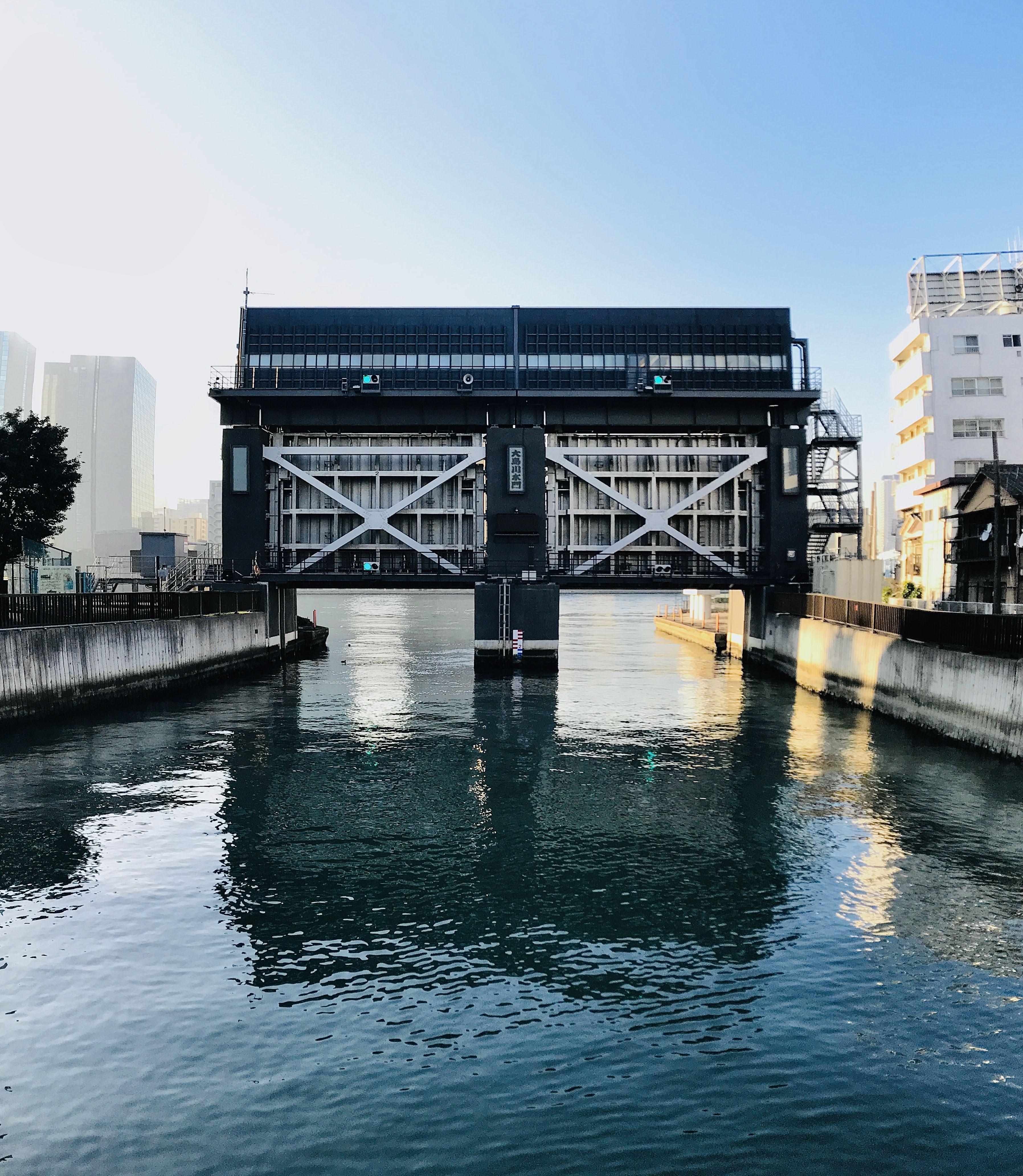 大島川水門