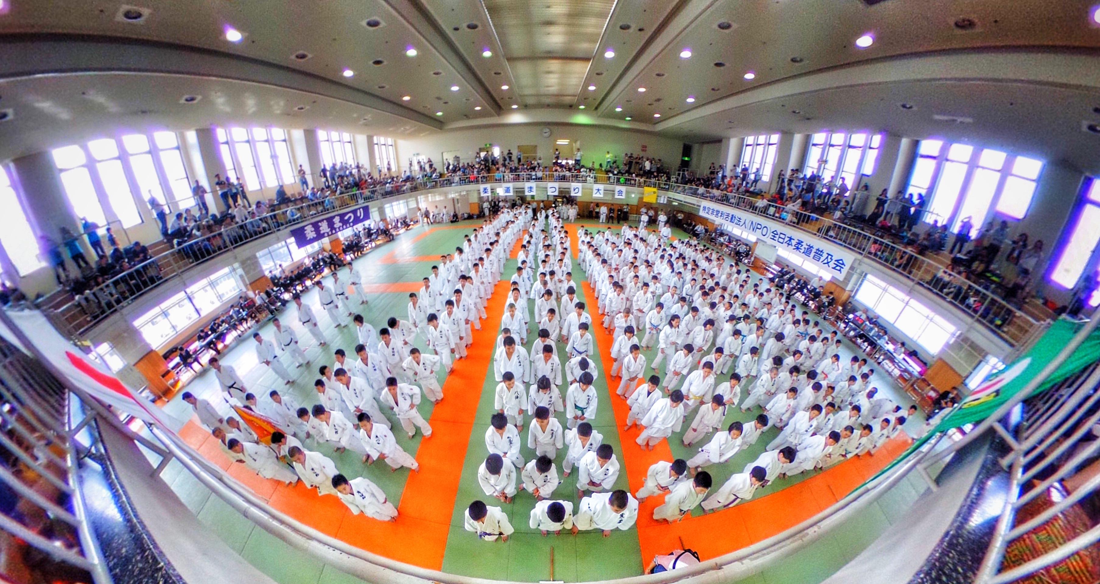 【作例】柔道大会