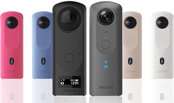 リコーthetaは世界初の360度カメラ