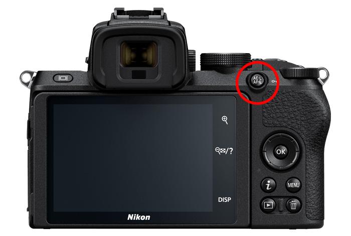 AF-ONボタンがないボディ(Nikon D750、Nikon D5600、Nikon Z 50、etc.)