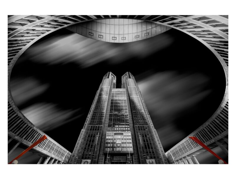 モノクロ建築写真
