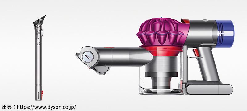 Dyson(ダイソン) コードレス掃除機「V8 Fluffy(SV10FF)」が突然活動停止(悲)したけどパーツを再利用!!!